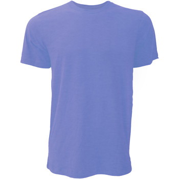 textil Hombre Camisetas manga corta Bella + Canvas CA3001 Cerceta Jaspeado Intenso