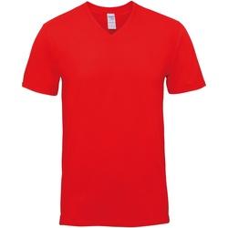 textil Hombre Camisetas manga corta Gildan GD016 Rojo
