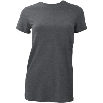 textil Mujer Camisetas manga corta Bella + Canvas BE6004 Gris oscuro