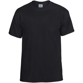 textil Camisetas manga corta Gildan DryBlend Negro