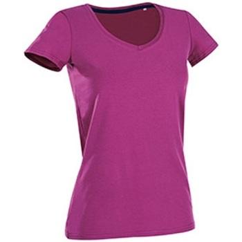 textil Mujer Camisetas manga corta Stedman Stars Claire Rosa Cupcake