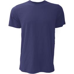 textil Hombre Camisetas manga corta Bella + Canvas CA3001 Azul Marino