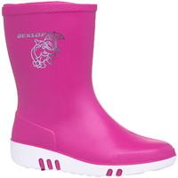 Zapatos Niños Botas de agua Dunlop  Rosa