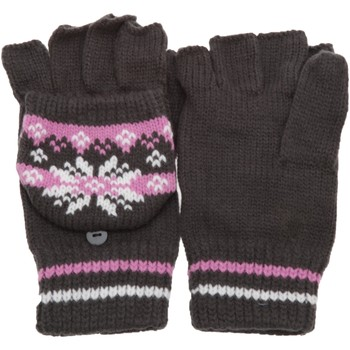 Accesorios textil Mujer Guantes Universal Textiles Patterned Gris/Rosa