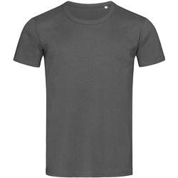textil Hombre Camisetas manga corta Stedman Stars Stars Gris Pizarra