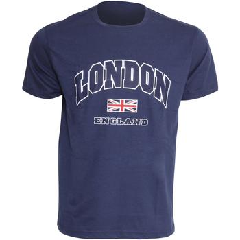 textil Hombre Camisetas manga corta England  Azul marino