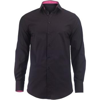 textil Hombre Camisas manga larga Alexandra Hospitality Negro/Rosa