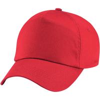 Accesorios textil Niña Gorra Beechfield B10B Rojo brillante