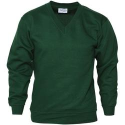 textil Hombre Sudaderas Absolute Apparel  Verde botella