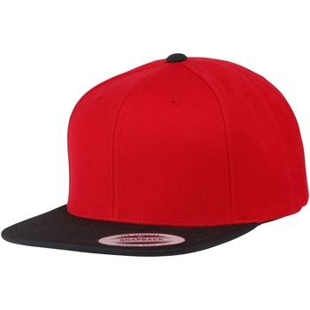 Accesorios textil Gorra Yupoong YP010 Rojo/Negro