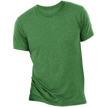 textil Hombre Camisetas manga corta Bella + Canvas CA3413 Esmeralda Triblend