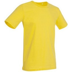 textil Hombre Camisetas manga corta Stedman Stars Morgan Amarillo Daisy