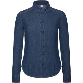 textil Mujer Camisas B And C Vision Azul oscuro Denim
