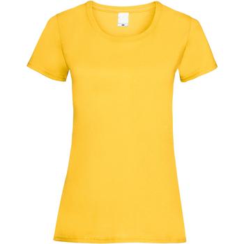 textil Mujer Camisetas manga corta Universal Textiles 61372 Oro