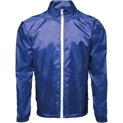 textil Hombre Cortaviento 2786  Azul royal / Blanco