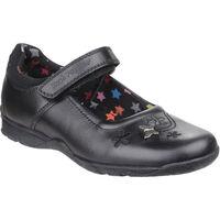 Zapatos Niña Bailarinas-manoletinas Hush puppies Clare Negro