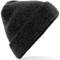 Accesorios textil Gorro Beechfield Reflective Negro