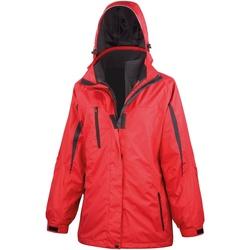 textil Mujer Cortaviento Result R400F Rojo/negro