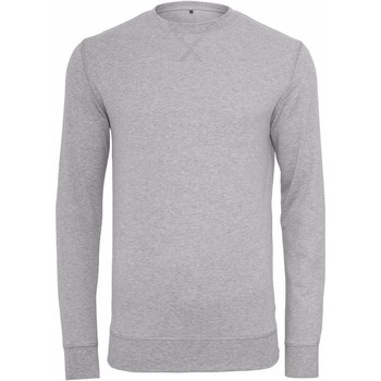 textil Hombre Sudaderas Build Your Brand BY010 Gris
