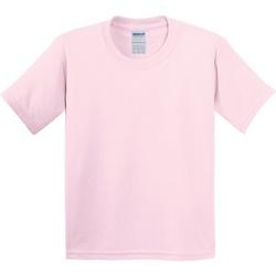 textil Niños Camisetas manga corta Gildan 5000B Rosa claro