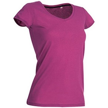 textil Mujer Camisetas manga corta Stedman Stars Megan Rosa Cupcake