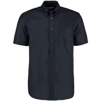 textil Hombre Camisas manga corta Kustom Kit KK350 Azul marino