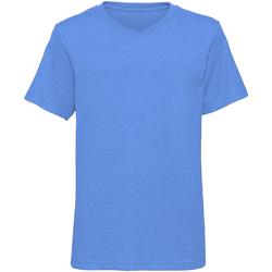 textil Niño Camisetas manga corta Russell J166B Azul
