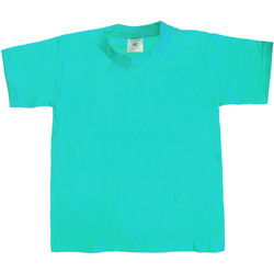 textil Niños Camisetas manga corta B And C Exact 190 Azul agua