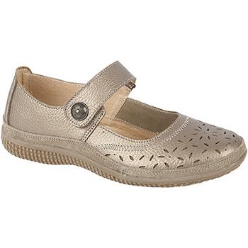 Zapatos Mujer Bailarinas-manoletinas Boulevard  Bronce