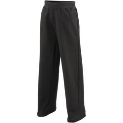 textil Niños Pantalones de chándal Awdis  Negro azabache