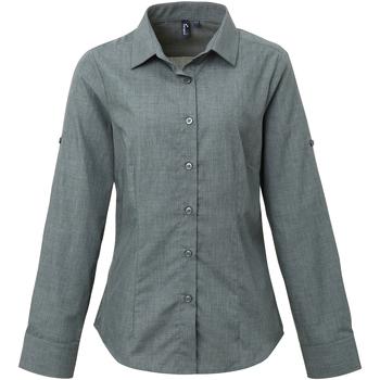 textil Mujer Camisas Premier PR317 Vaquero gris