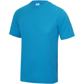 textil Niños Camisetas manga corta Awdis JC01J Azul Zafiro