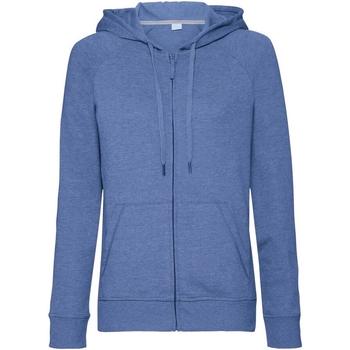 textil Mujer Sudaderas Russell J284F Azul Jaspeado