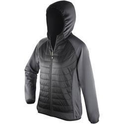 textil Mujer Plumas Spiro S268F Negro/ Carbón
