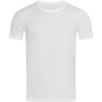 textil Hombre Camisetas manga corta Stedman Stars Morgan Blanco