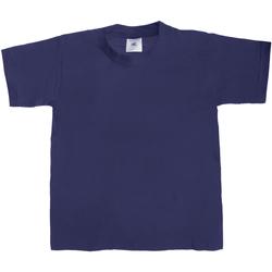 textil Niños Camisetas manga corta B And C TK301 Azul real