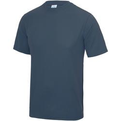 textil Hombre Camisetas manga corta Awdis JC001 Azul Airforce