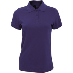 textil Mujer Polos manga corta Sols 10573 Púrpura Oscuro