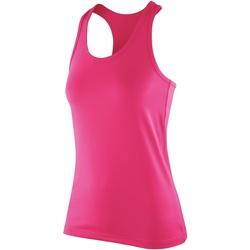 textil Mujer Camisetas sin mangas Spiro SR281F Caramelo