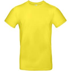 textil Hombre Camisetas manga corta B And C TU03T Amarillo solar