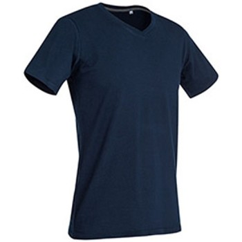 textil Hombre Camisetas manga corta Stedman Stars Clive Azul Marina