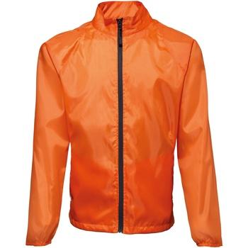textil Hombre Cortaviento 2786 TS011 Naranja / Negro