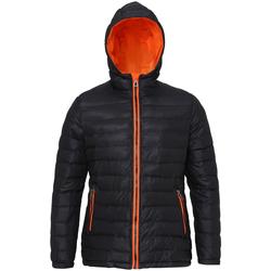 textil Mujer Plumas 2786 TS16F Negro/Naranja