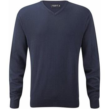 textil Hombre Sudaderas Russell R717M Carbón Jaspeado