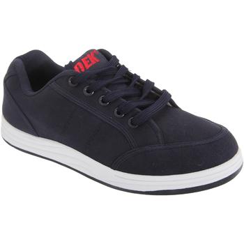 Zapatos Hombre Zapatillas bajas Dek Charlie Azul real