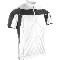 textil Hombre Polaire Spiro S188M Blanco/Negro