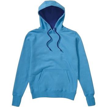 textil Hombre Sudaderas Sg SG24 Turquesa/ Azul marino