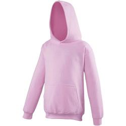 textil Niños Sudaderas Awdis JH01J Rosa pálido