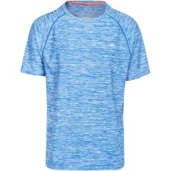 textil Hombre Camisetas manga corta Trespass Gaffney Azul moteado