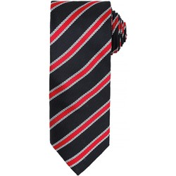 textil Hombre Corbatas y accesorios Premier PR783 Negro/Rojo